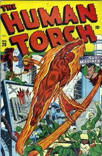 Cover Thumbnail for The Human Torch (Marvel, 1940 series) #20