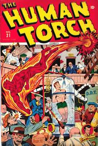 Cover Thumbnail for The Human Torch (Marvel, 1940 series) #21