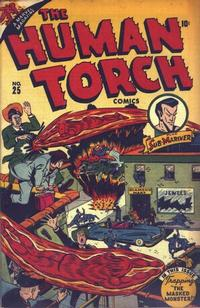 Cover Thumbnail for The Human Torch (Marvel, 1940 series) #25