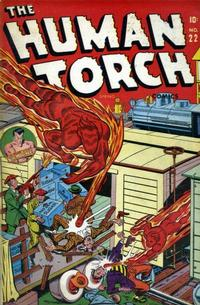 Cover Thumbnail for The Human Torch (Marvel, 1940 series) #22