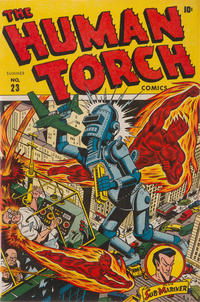 Cover Thumbnail for The Human Torch (Marvel, 1940 series) #23