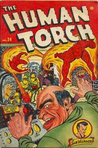 Cover Thumbnail for The Human Torch (Marvel, 1940 series) #24