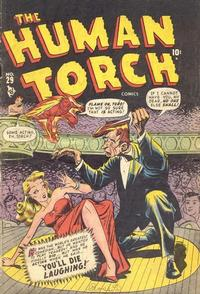 Cover Thumbnail for The Human Torch (Marvel, 1940 series) #29