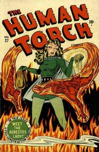 Cover Thumbnail for The Human Torch (Marvel, 1940 series) #27