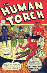 Cover Thumbnail for The Human Torch (Marvel, 1940 series) #28
