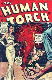 Cover Thumbnail for The Human Torch (Marvel, 1940 series) #30