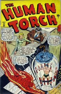 Cover Thumbnail for The Human Torch (Marvel, 1940 series) #31