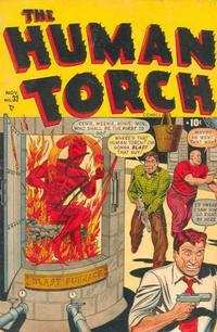 Cover Thumbnail for The Human Torch (Marvel, 1940 series) #33