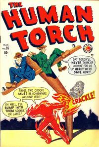 Cover Thumbnail for The Human Torch (Marvel, 1940 series) #35