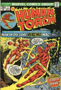 Cover Thumbnail for The Human Torch (Marvel, 1974 series) #1