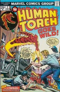 Cover Thumbnail for The Human Torch (Marvel, 1974 series) #2