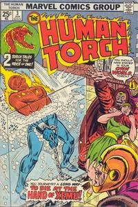 Cover Thumbnail for The Human Torch (Marvel, 1974 series) #3