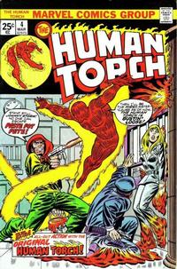 Cover Thumbnail for The Human Torch (Marvel, 1974 series) #4