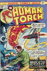 Cover Thumbnail for The Human Torch (Marvel, 1974 series) #5