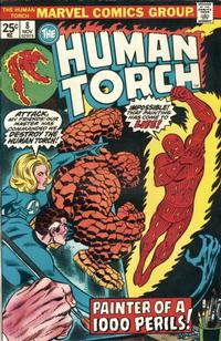 Cover Thumbnail for The Human Torch (Marvel, 1974 series) #8