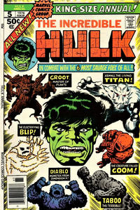 Cover Thumbnail for The Incredible Hulk Annual (Marvel, 1976 series) #5