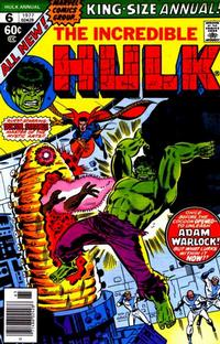 Cover Thumbnail for The Incredible Hulk Annual (Marvel, 1976 series) #6