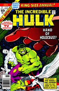 Cover Thumbnail for The Incredible Hulk Annual (Marvel, 1976 series) #7