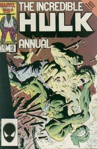 Cover Thumbnail for The Incredible Hulk Annual (Marvel, 1976 series) #15 [Direct Edition]