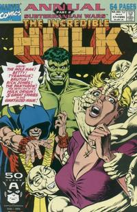 Cover Thumbnail for The Incredible Hulk Annual (Marvel, 1976 series) #17 [Direct]