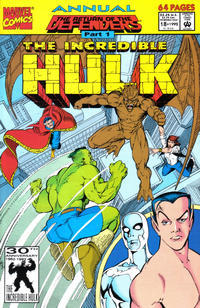 Cover Thumbnail for The Incredible Hulk Annual (Marvel, 1976 series) #18 [Direct]
