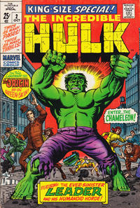 Cover Thumbnail for The Incredible Hulk Special (Marvel, 1968 series) #2