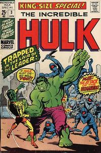 Cover Thumbnail for The Incredible Hulk Special (Marvel, 1968 series) #3