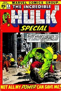 Cover Thumbnail for The Incredible Hulk Special (Marvel, 1968 series) #4