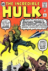 Cover Thumbnail for The Incredible Hulk (Marvel, 1962 series) #3 [Regular Edition]