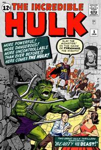 Cover Thumbnail for The Incredible Hulk (Marvel, 1962 series) #5 [Regular Edition]