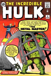 Cover Thumbnail for The Incredible Hulk (Marvel, 1962 series) #6 [Regular Edition]