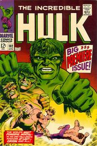 Cover Thumbnail for The Incredible Hulk (Marvel, 1968 series) #102