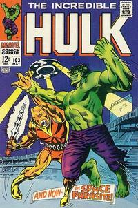Cover Thumbnail for The Incredible Hulk (Marvel, 1968 series) #103