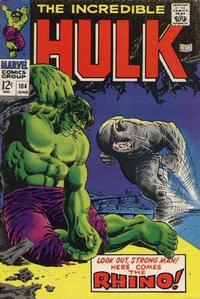 Cover Thumbnail for The Incredible Hulk (Marvel, 1968 series) #104