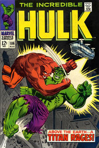Cover Thumbnail for The Incredible Hulk (Marvel, 1968 series) #106