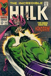 Cover Thumbnail for The Incredible Hulk (Marvel, 1968 series) #107