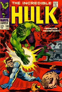 Cover Thumbnail for The Incredible Hulk (Marvel, 1968 series) #108