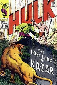 Cover Thumbnail for The Incredible Hulk (Marvel, 1968 series) #109