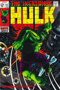 Cover Thumbnail for The Incredible Hulk (Marvel, 1968 series) #111