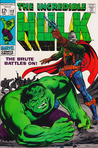 Cover Thumbnail for The Incredible Hulk (Marvel, 1968 series) #112