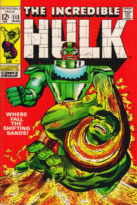 Cover Thumbnail for The Incredible Hulk (Marvel, 1968 series) #113
