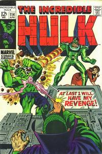 Cover Thumbnail for The Incredible Hulk (Marvel, 1968 series) #114 [Regular Edition]