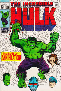 Cover for The Incredible Hulk (Marvel, 1968 series) #116 [Regular Edition]