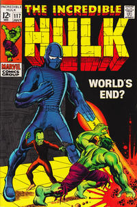 Cover Thumbnail for The Incredible Hulk (Marvel, 1968 series) #117