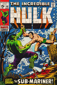 Cover Thumbnail for The Incredible Hulk (Marvel, 1968 series) #118 [Regular Edition]