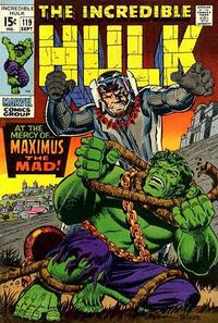 Cover Thumbnail for The Incredible Hulk (Marvel, 1968 series) #119 [Regular Edition]