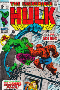Cover Thumbnail for The Incredible Hulk (Marvel, 1968 series) #122