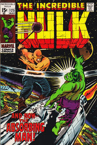 Cover Thumbnail for The Incredible Hulk (Marvel, 1968 series) #125