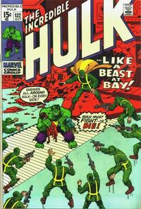 Cover Thumbnail for The Incredible Hulk (Marvel, 1968 series) #132