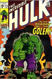 Cover Thumbnail for The Incredible Hulk (Marvel, 1968 series) #134